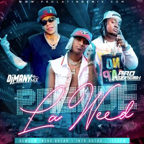 Prende La Weed - Yomel Ft Lirica Y El Fecho Rd - DJ Many Mix - Dembow Intro Break + Intr  Outro - 120BPM - 2 Versions
