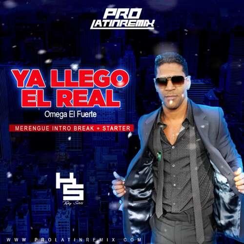 Ya Llego El Real - Omega El Fuerte - DJ Kuky Sweets - Merengue Intro Break + Starter - 175BPM - 2 Versions
