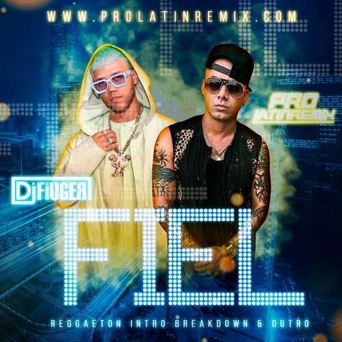 Fiel - Wisin Ft Jay Cortez - DJ Fiuger - Reggaeton Intro Breakdown & Outro - 98BPM
