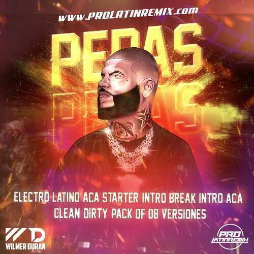 Pepas - Farruko - DJ Wilmer Duran - Intro Break+Intro Aca+Aca Starter+Intro&Outro - Clean&Dirty - 130BPM - 8 Versions