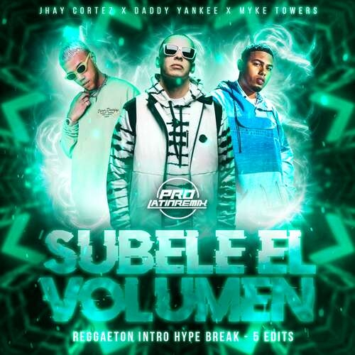 Subele El Volumen - D.Y X Various - Alonso Remix - Intro Hype Break+Starter+Intro&Outro-Clean&Dirty-100BPM- 5 Versions