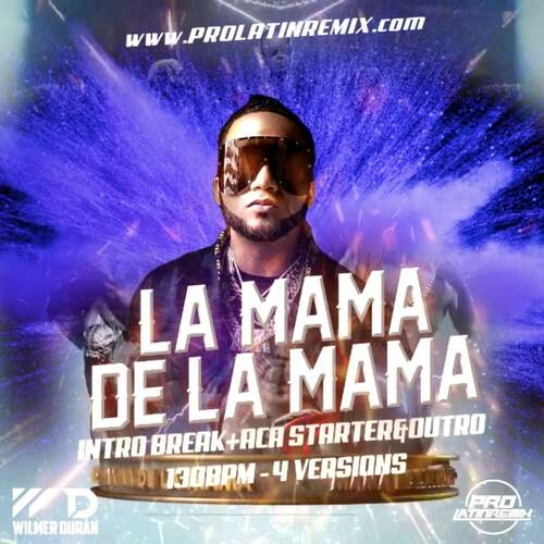 La Mama De La Mama (Remix) - El Alfa X Various - DJ Wilmer Duran - Intro Break+Aca Starter&Outro - 130BPM - 4 Versions