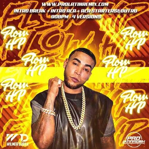 Flow HP - Don Omar Ft Residente - DJ Wilmer Duran - Intro Break + Intro Aca + Aca Starters&Outro - 90BPM - 4 Versions