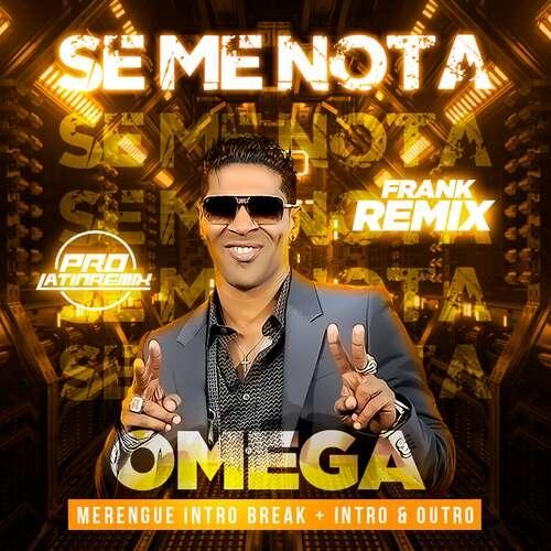 Se Me Nota En Vivo - Omega El Fuerte - Frank Remix - Mambo Intro Break+Intro&Outro Steady Basskit- 155BPM - 2 Versions